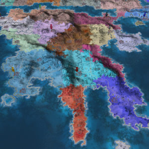Peloponesse territories