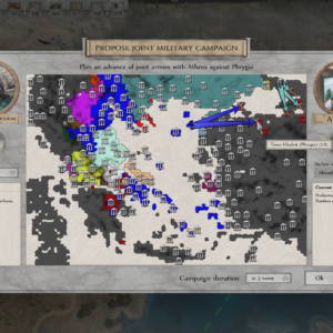 Military campaign