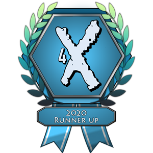 eXplorminate Runner Up of 2020